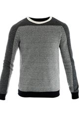 Z Zegna Microweave Long Sleeve Top - Lyst