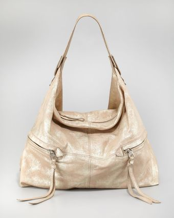 Kooba Crosby Metallic Hobo Bag - Lyst