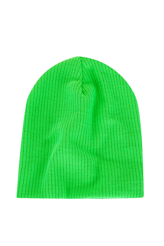 c7d7c4ffb94 Lyst - TOPSHOP Skater Rib Beanie in Green