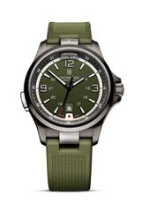 Victorinox Swiss Army Green Rubber Watch 42mm - Lyst
