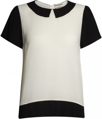 By Malene Birger By Malener Birger Lovia Top Cream - Lyst