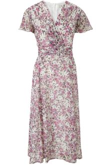 Cc Multicoloured Floral Garden Dress - Lyst