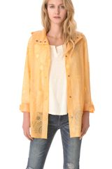 Free People Utility Raincoat - Lyst