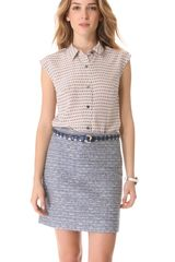Marc By Marc Jacobs Dot Print Top - Lyst