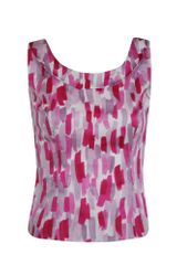 Minuet Petite Brush Print Shell Top - Lyst