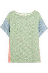 Paul & Joe Argovie Cotton blend Honeycomb knit Sweater - Lyst