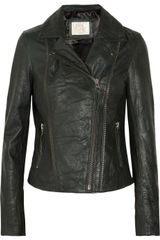 Sara Berman Rudy Leather Biker Jacket - Lyst