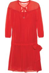 Diane Von Furstenberg New Desma Silk Dress - Lyst