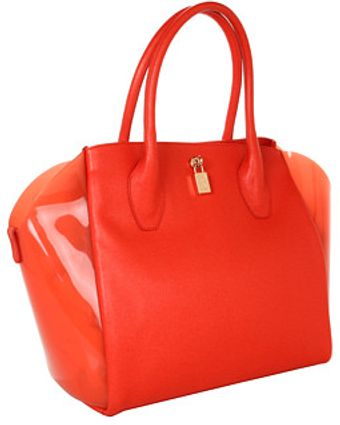 Furla Olimpia M Gel Shopper - Lyst