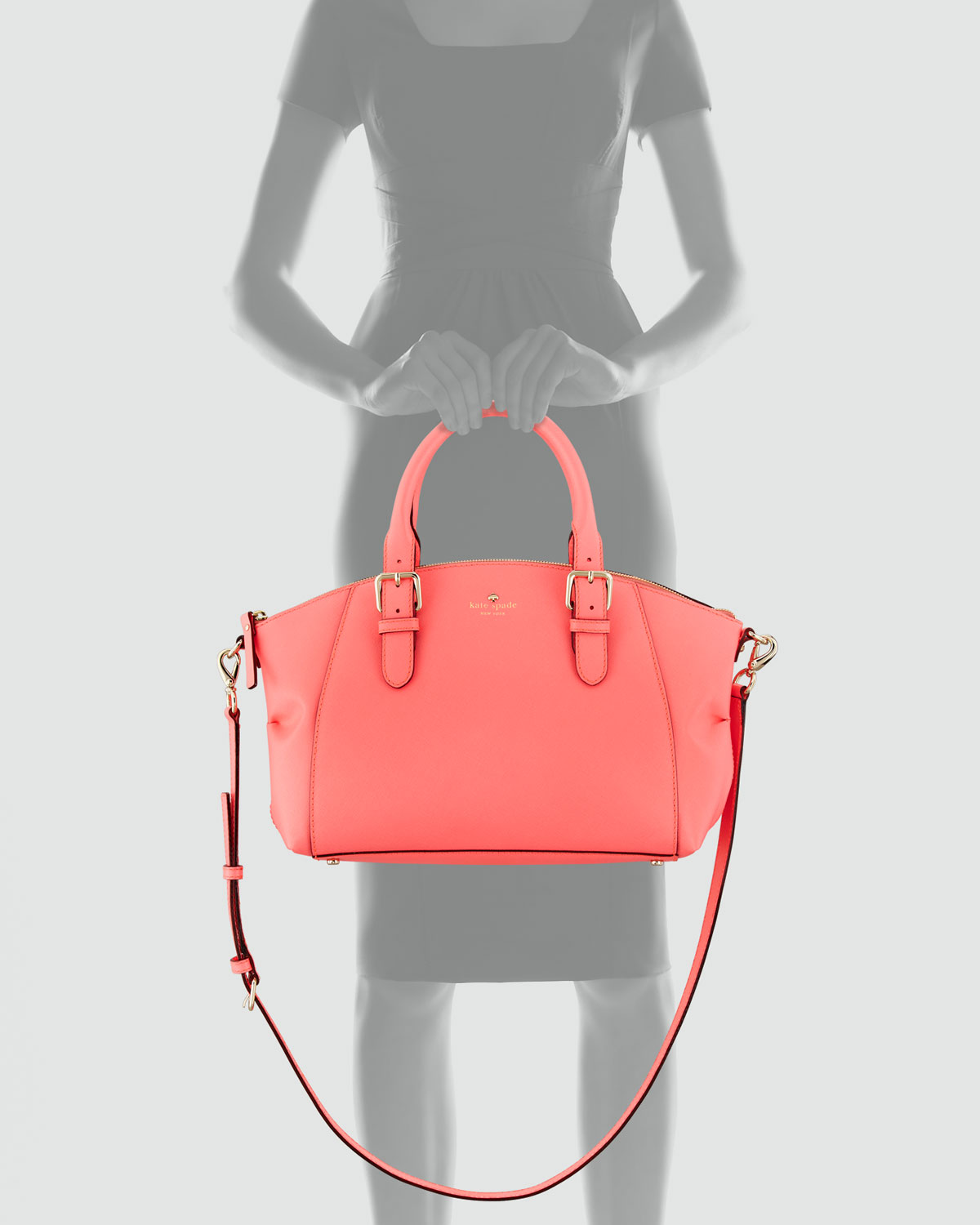 Lyst - Kate Spade Charlotte Street Small Sloan Tote Bag in Pink 00a8c3c880705