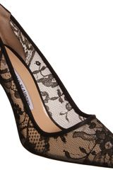 Manolo Blahnik Lace Bb