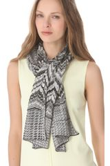 Missoni Mixed Print Lurex Scarf - Lyst