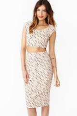 Nasty Gal Mad Dash Crop Top - Lyst