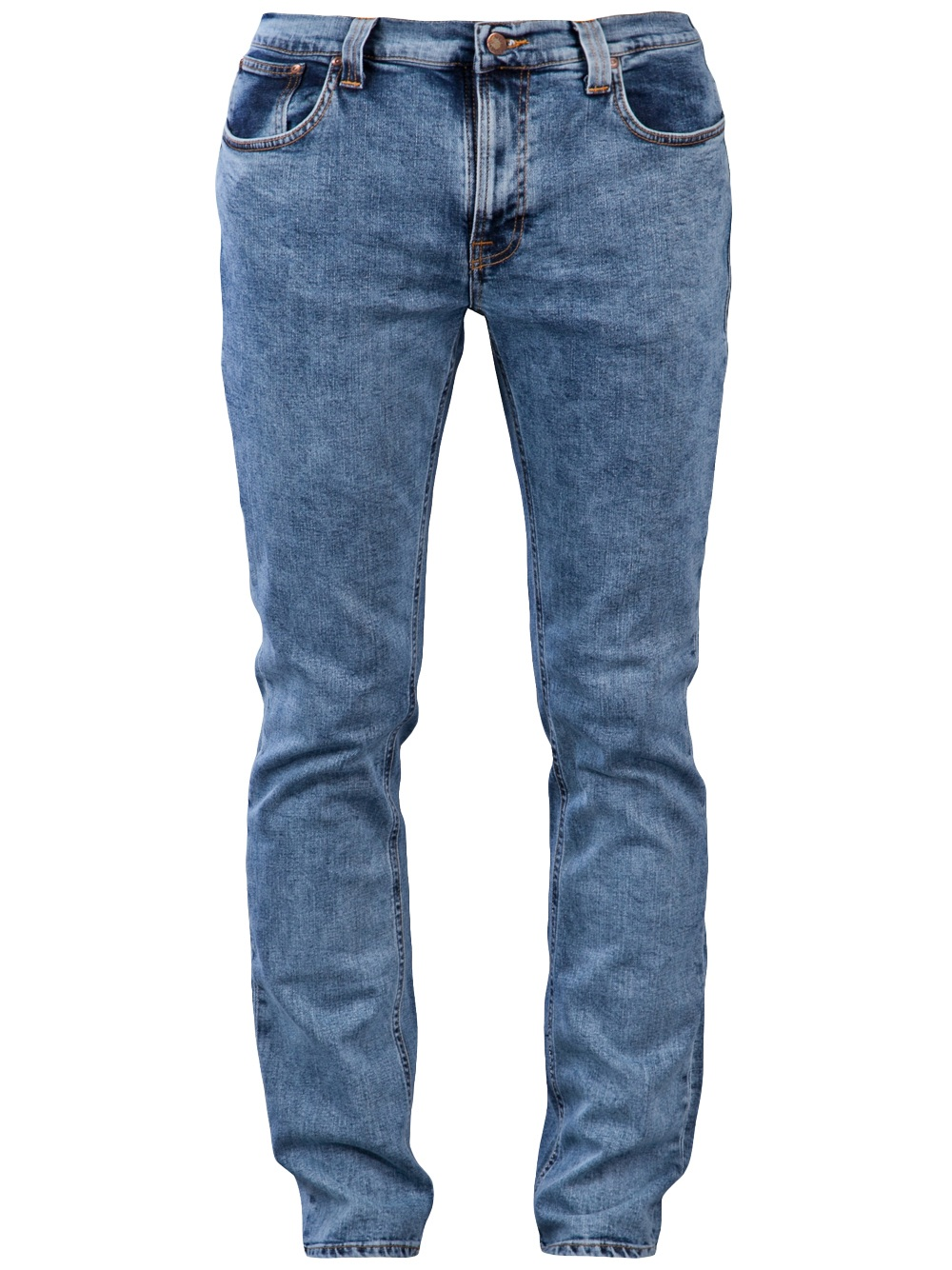 nudie jeans thin finn jean in blue for men lyst. Black Bedroom Furniture Sets. Home Design Ideas