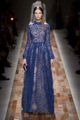 Valentino Fall 2013 Runway Look 54 - Lyst