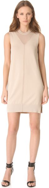 Alexander Wang Fine Gauge Jersey Dress - Lyst