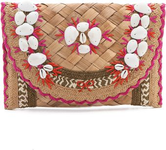 Anya Hindmarch Ipanema Shells Clutch - Lyst