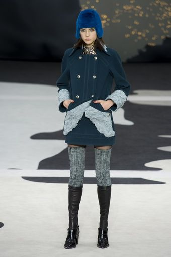 Chanel Fall 2013 Runway Look 10 - Lyst