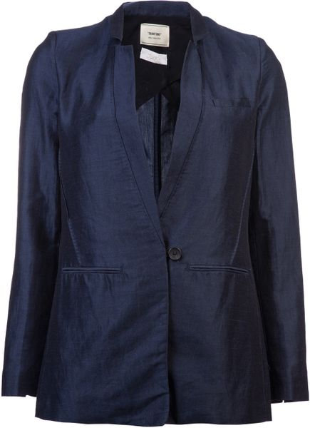 Giada Forte Blu Jacket in Blue (blu)