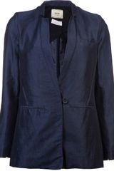 Giada Forte Blu Jacket in Blue (blu) - Lyst