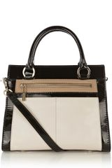 Karen Millen Color Block Small Bag - Lyst