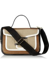 Pierre Hardy Colorblock Leather Shoulder Bag - Lyst