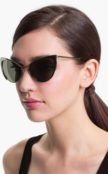 118abbf83ed9b ... Tom Ford  Nastasya  56Mm Sunglasses - Palladium in Silver ... Tom Ford