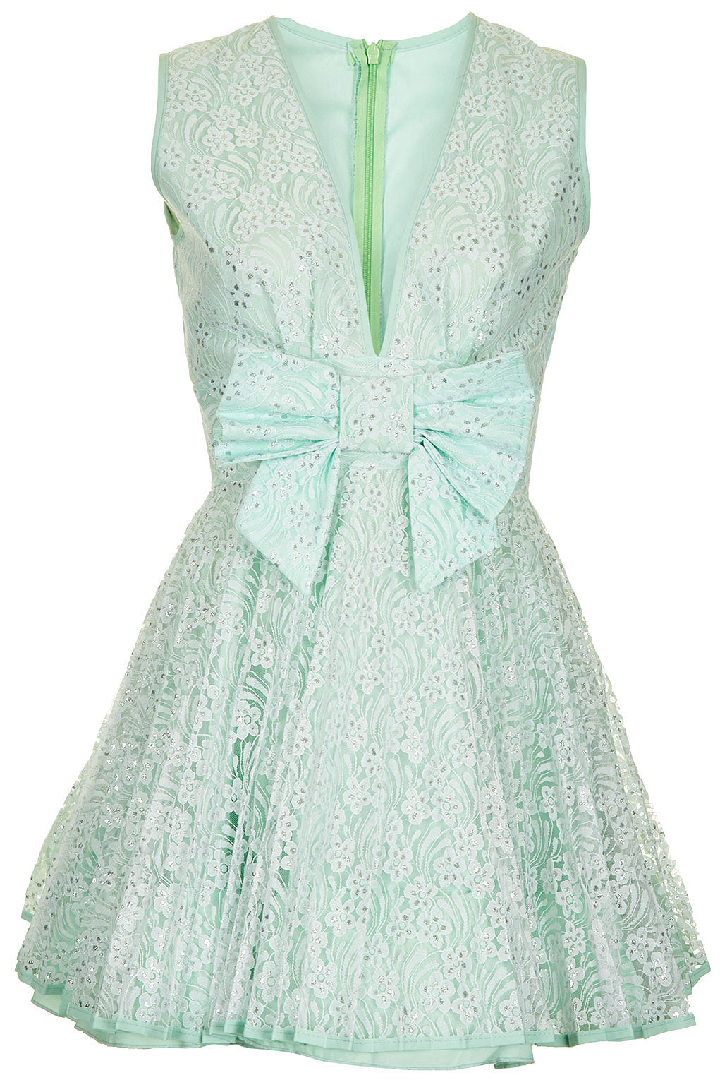 Topshop Sasha Dress By Jones and Jones in Green - Lyst