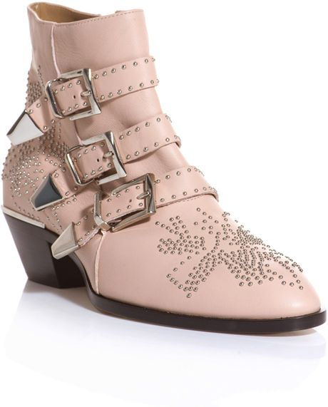 Chloé Susanna Boots in Pink