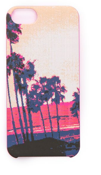 Juicy Couture Sunset Palms Iphone Case - Lyst