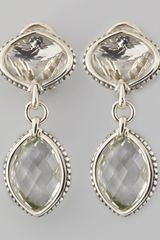 Lagos Venus Drop Earrings Rock Crystal - Lyst