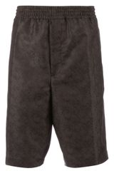Neil Barrett Kneelength Shorts - Lyst