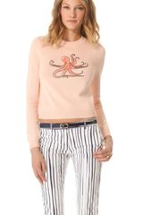 Opening Ceremony Octopus Patch Sweater - Lyst