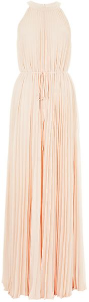 Ted Baker Pleated Maxi Dress - Lyst