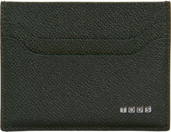 Tod's Logo Tile Card Case - Lyst