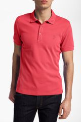 Versace Cotton Polo Shirt - Lyst