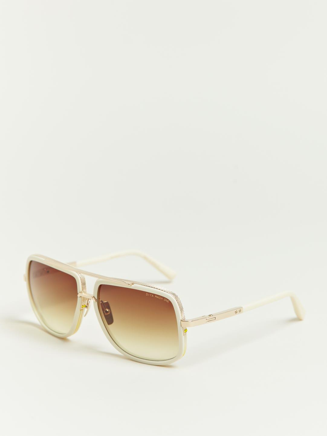 11b9b641b4cc Lyst - DITA Matte Bone Mach One Sunglasses for Men
