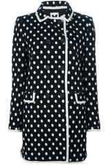M Missoni Polka Dot Overcoat - Lyst