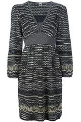 M Missoni Print Dress - Lyst
