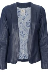 MiH Jeans Leather Blazer