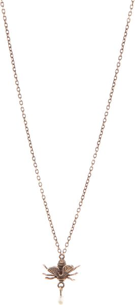 Pamela Love Fly Necklace - Lyst