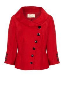 Precis Petite Red Asymmetric Jacket - Lyst