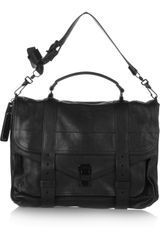 Proenza Schouler The Ps1 Large Leather Satchel - Lyst