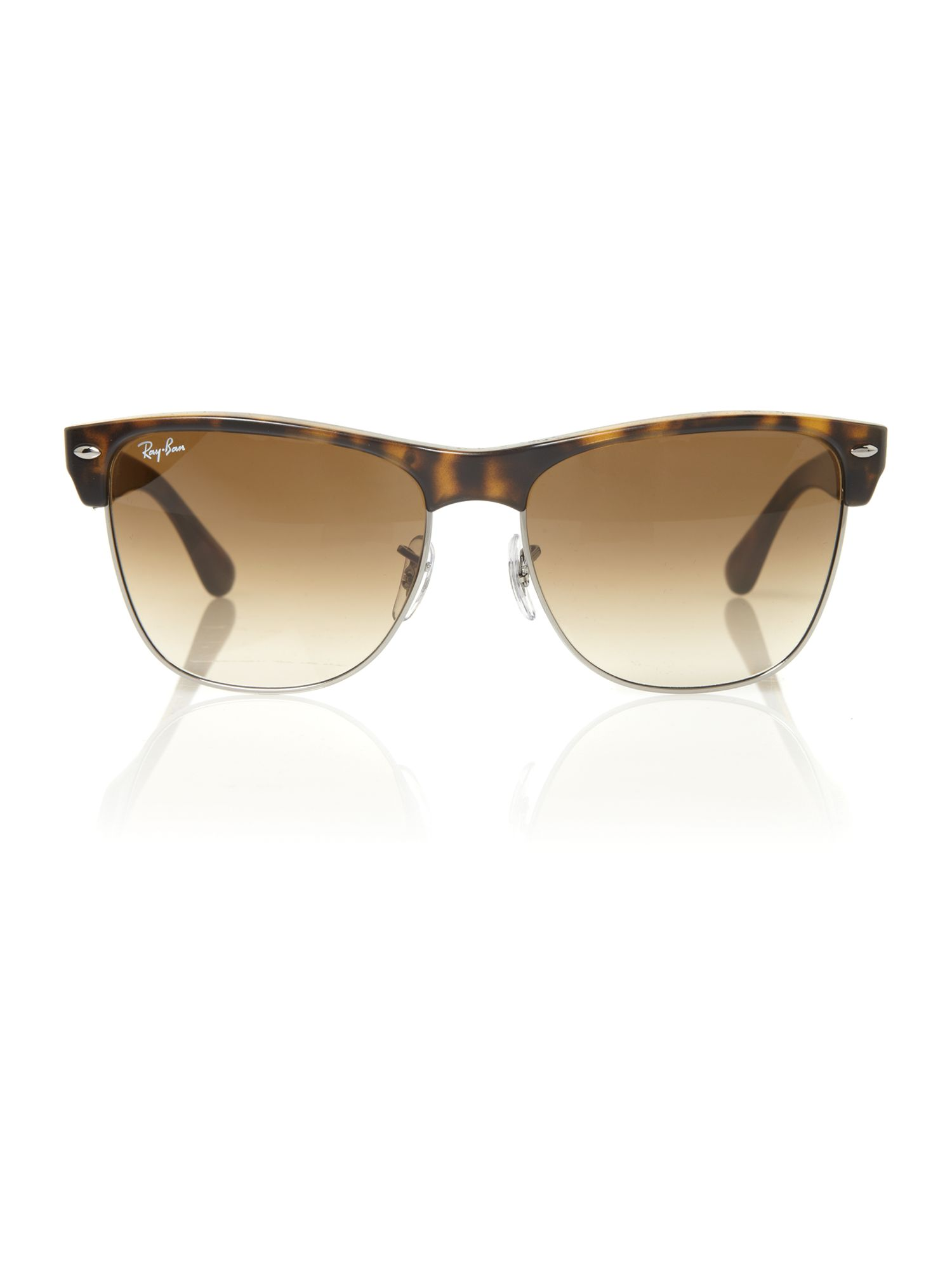 38d347433b4 Ray Ban Ray Ban Unisex Rb4175 Havana Oversized Clubmaster « Heritage ...