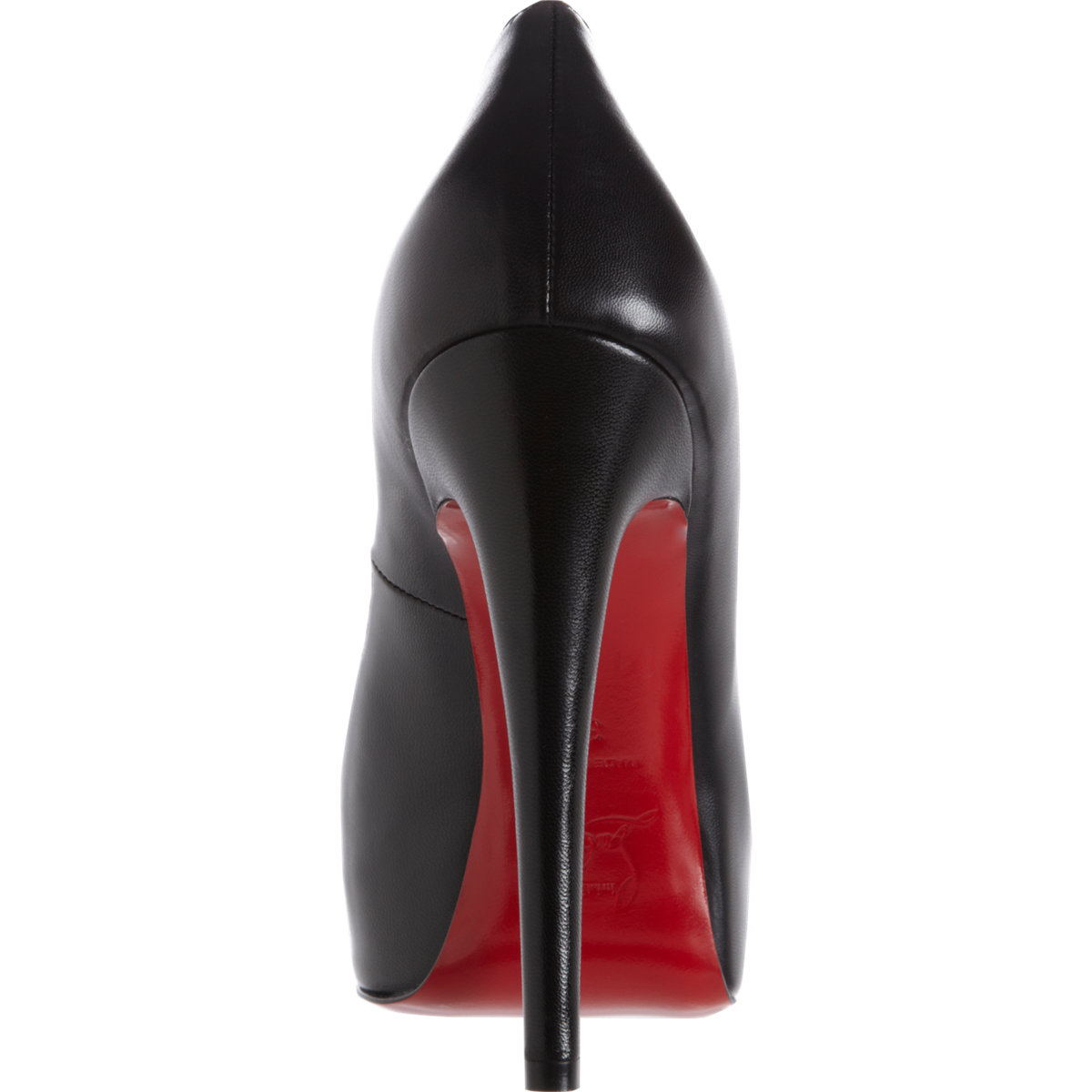 410f57a134a3 Shoeniverse  TFL - CHRISTIAN LOUBOUTIN Black Vendome Peep Toe Pumps