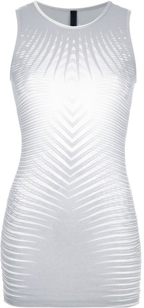 Gareth Pugh Graphic Tank Top - Lyst