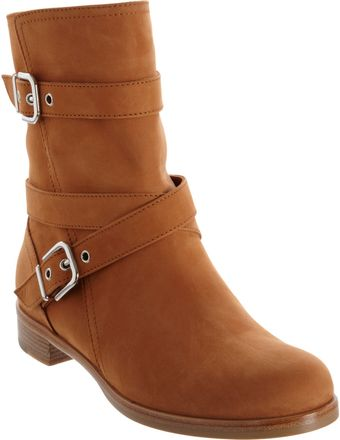 Gianvito Rossi Ankle Motorcycle Boot - Lyst