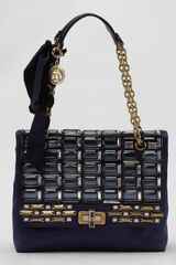 Lanvin Happy Medium Beaded Flap Shoulder Bag - Lyst