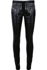 Lerock 'New Side' Studded Trouser - Lyst