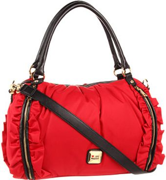 Love Moschino Dual Top Handles Handbag - Lyst
